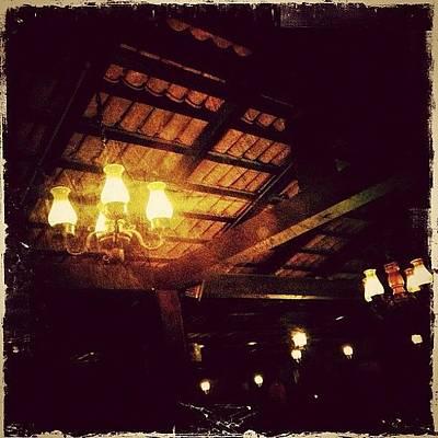 Restaurant Photograph - Dinner Lights (puerto Vallarta) by Natasha Marco
