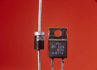 Integrated Photograph - Diodes by Andrew Lambert Photography