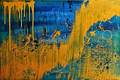 Painting - Dipped In Gold by Eric Chapman