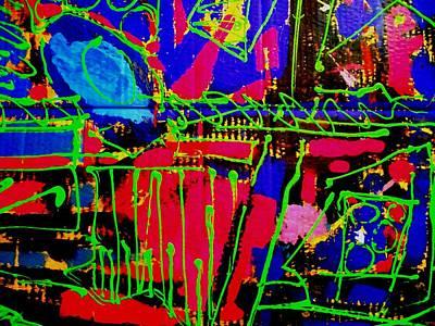 Diptych  II Art Print