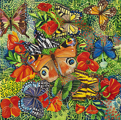 Zebra Swallowtail Painting - Direction Doesn't Matter by Rene LeGrue