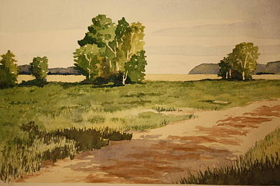 Painting - Dirt Road 1 by Jeff Lucas