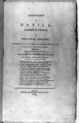 Discourses On Davila, 1790 Art Print by Granger