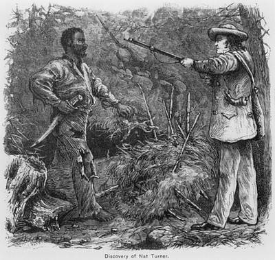 Discovery Of Nat Turner 1800-1831 Art Print by Everett