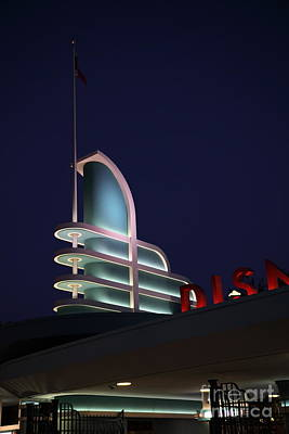 Photograph - Disney California Adventure - Anaheim California - 5d17766 by Wingsdomain Art and Photography