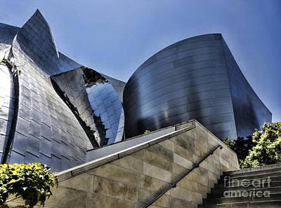 Disney Music Hall Photograph - Disney Concert Hall I by Chuck Kuhn