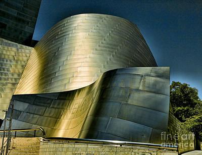 Disney Music Hall Photograph - Disney Concert Hall II by Chuck Kuhn