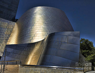 Disney Music Hall Photograph - Disney Concert Hall Iv by Chuck Kuhn