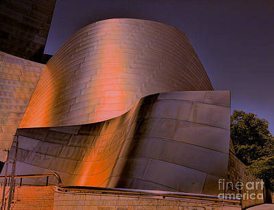 Disney Music Hall Photograph - Disney Hall Viii by Chuck Kuhn