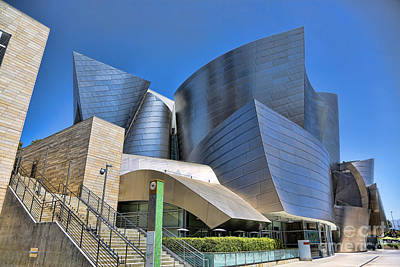 Disney Music Hall Photograph - Disney Music Hall II by Chuck Kuhn