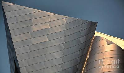 Disney Music Hall Photograph - Disney Music Hall IIi by Chuck Kuhn