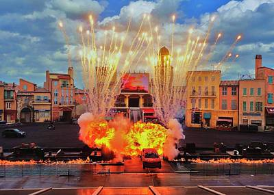 Photograph - Disney Studios Excitement by Benjamin Yeager