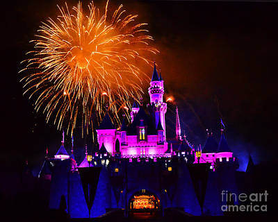 Photograph - Disneyland 2 by Jack Moskovita