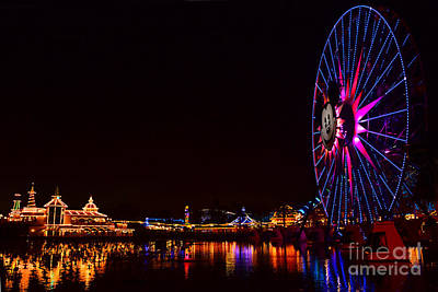 Photograph - Disneyland 3 by Jack Moskovita
