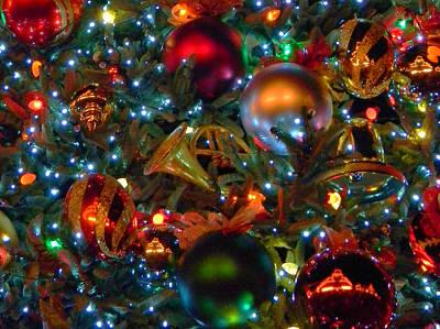 Disneyland Christmas Ornaments Art Print by Daniel Dodd