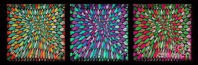 Digital Art - Disperse Color Tones by Ankeeta Bansal