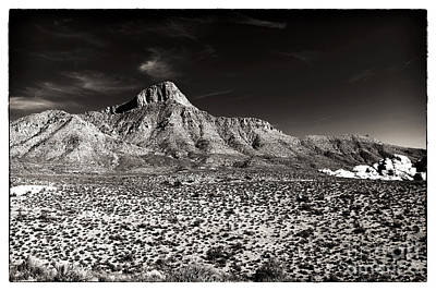 Photograph - Distant Peak by John Rizzuto
