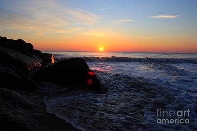 Art Print featuring the photograph Distant Shore by Everett Houser