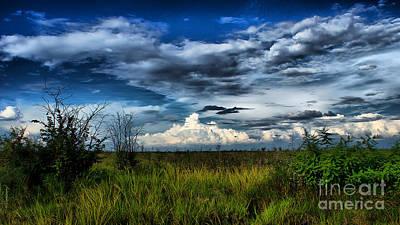 Photograph - Distant Storms by Mareko Marciniak