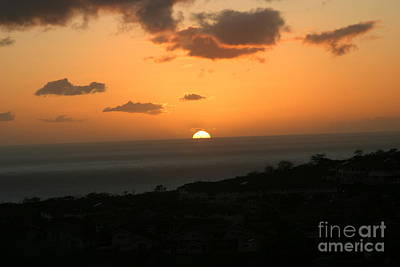 Photograph - Distant Sunset by Anthony Trillo