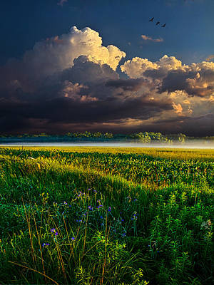 Distant Thunder Art Print by Phil Koch