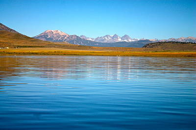 Crowley Lake Photograph - Distilled Beauty by Alexander Martinez