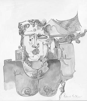 Distortion 3 Art Print by Padamvir Singh