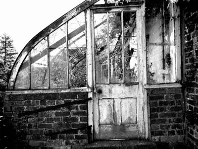 Photograph - Disused Greenhouse by Julie Williams