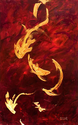 Painting - Dive by Shannon Grissom