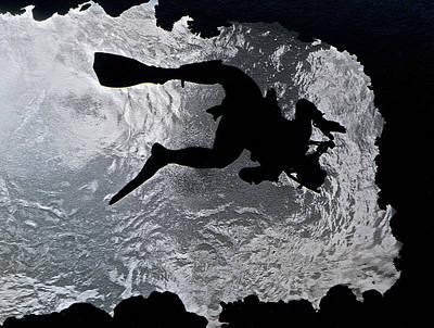 Photograph - Diver Exit by Bill Owen