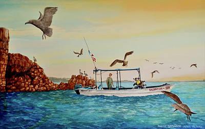 Divers At Cabo San Lucas Original