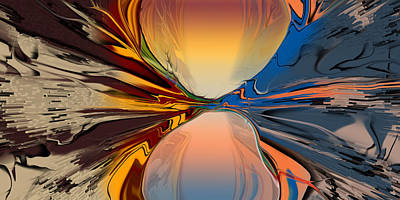 Digital Art - Divided In Fact by Steve Sperry
