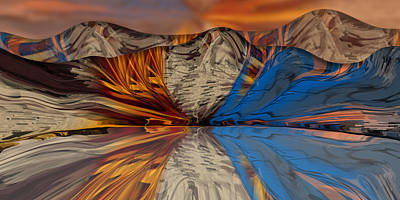 Digital Art - Divided Redux by Steve Sperry