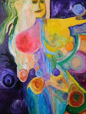Painting - Divine Feminine 1 by Kat Kemm