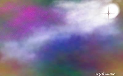 Divine Intervention Art Print by Carly Stroman