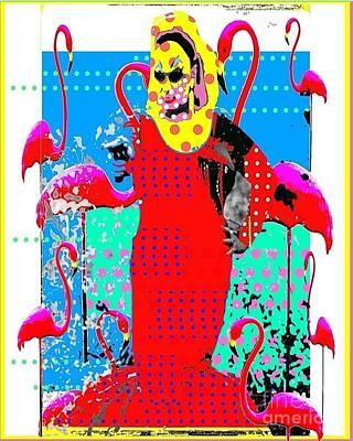 Divine Art Print by Ricky Sencion