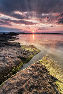 Divine Sunset Art Print by Evgeni Dinev
