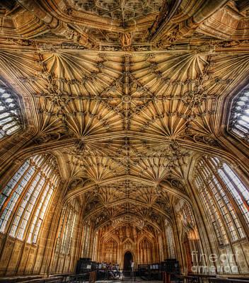 Photograph - Divinity School - Oxford by Yhun Suarez
