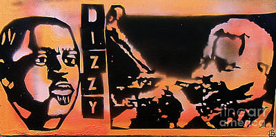 Tony B. Conscious Painting - Dizzyness by Tony B Conscious