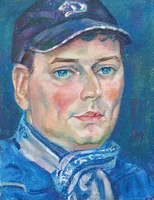 Dmitry Polyakov Art Print by Leonid Petrushin