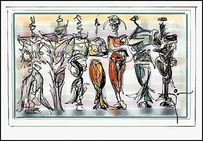 Digital Art - Dms Ipad1 by James Lanigan Thompson MFA
