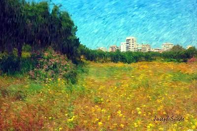Photograph - Do-00479 Bois Des Pins - Impressionist by Digital Oil