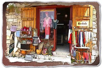 Photograph - Do-00480 Shop In Old Byblos by Digital Oil