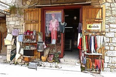 Photograph - Do-00481 Shop In Old Byblos by Digital Oil