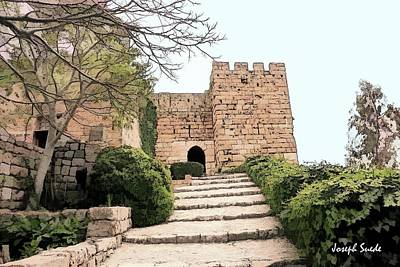 Photograph - Do-00482 Byblos Citadel by Digital Oil