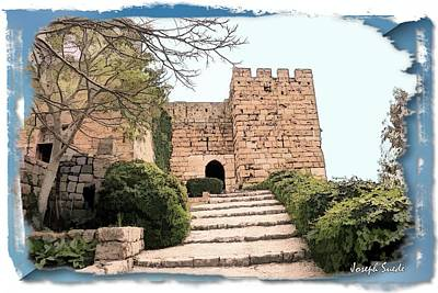 Photograph - Do-00483 Byblos Citadel by Digital Oil
