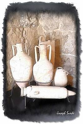 Photograph - Do-00485 Old Jars by Digital Oil