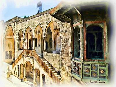 Photograph - Do-00513 Emir Bachir Palace by Digital Oil