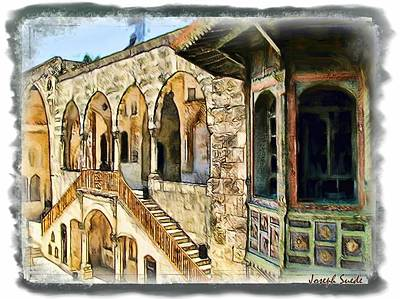 Photograph - Do-00514 Emir Bechir Palace by Digital Oil
