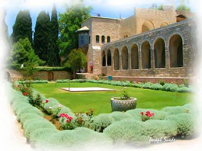 Photograph - Do-00515 Emir Bachir Palace Garden by Digital Oil